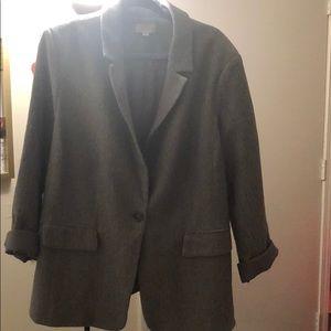 Loft plus size blazer